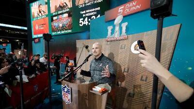 La política, el tema del que nadie quiso hablar en la 'Noche de la Prensa' del Super Bowl