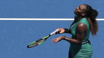 Serena WIlliams deja ir el partido y cae ante Pliskova en Cuartos de Final