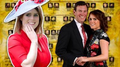Eugenie de York y su prometido, con quien se casará en octubre, son primos (What? 😱)