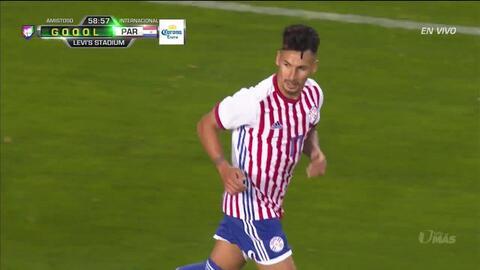 ¡GOOOL! Hernán Pérez anota para Paraguay