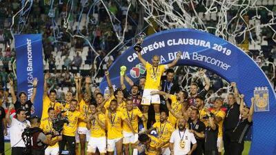Tigres logra llevarse su séptimo título de la liga mexicana