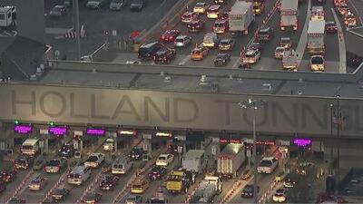 Advierten sobre cierre en el New Jersey Turnpike que también afectará al tráfico del Holland Tunnel