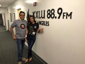 Omar y Argelia transmitieron su show EN VIVO desde la Universidad de Loyola Marymount