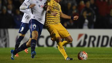 Boca Juniors le arrebata el empate a Nacional como visitante en la ida de cuartos de final