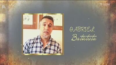 Gabriel Batistuta, el goleador, clase 2019 del Salón de la Fama