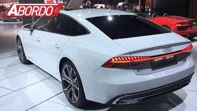 Detroit Auto Show 2018: Audi A7 2019 - A Bordo