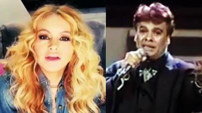 Paulina Rubio envió un mensaje conmovedor por la muerte de su amigo Juan Gabriel