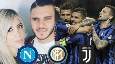 Icardi se debate entre el Napoli y la Juventus, mientras Wanda responde a rumores de infidelidad