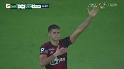Martillazo de Barceló y Atlas aumenta la cuenta a 2-0