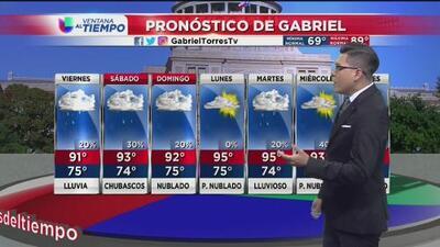 Se prevé un viernes lluvioso en Austin