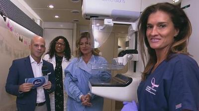 Una mamografía puede ser la diferencia ante el cáncer y Paola Gutiérrez muestra lo rápido que es el procedimiento