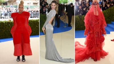 Lo extravagante, lo clásico y lo elegante en la gala del Met 2017