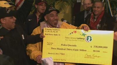 Ganó la lotería, pero desde entonces su vida se ha llenado de desgracias