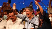 """""""Los ecuatorianos han expresado la necesidad de cambio"""": Lasso celebra su victoria en elecciones presidenciales"""