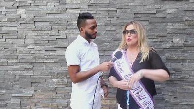 """Ednita Nazario se siente """"orgullosa"""" por representar a la comunidad latina en la marcha LGBTQ en Nueva York"""