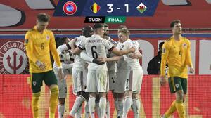 Llegará herido ante el Tri... Bélgica remontó y derrotó a Gales