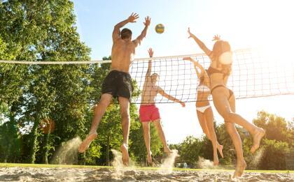 A pesar de que tienen fama de ser perezosos cuando de deporte se trata, una rutina dinámica en el gimnasio podría ser la solución. También les recomendamos practicar voleibol, pueden llegar a ser demasiado competitivos. <br>