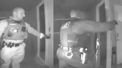 (Video) Policía rescató a niños de sus padres 'antivacunas' porque no los llevaban al hospital