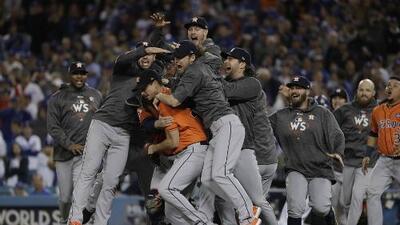 La Novela: Los Astros apagan el volcán de los Dodgers para ser campeones por vez primera