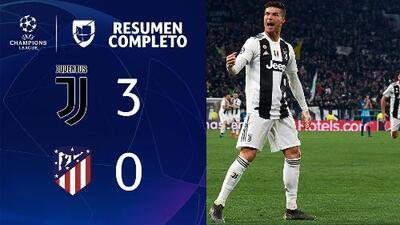 JUVENTUS 3-0 ATLÉTICO DE MADRID – GOLES Y RESUMEN – VUELTA OCTAVOS DE FINAL – UEFA Champions League