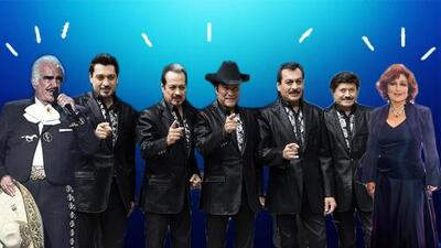 Why Los Tigres del Norte, Vicente Fernández and Angélica María are guests of honor at Clinton's Vegas debate party