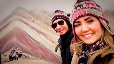 Las 'elevadas' vacaciones de Andrea Legarreta a 5 mil metros de altura