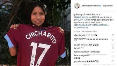 Yalitza Aparicio, la actriz de la película Roma, agradeció gesto del 'Chicharito' Hernández