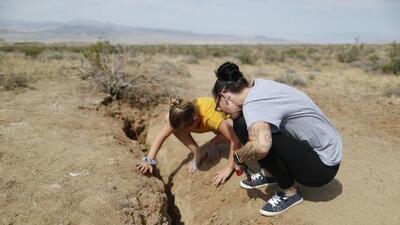 No fue la falla de San Andrés, pero sí una de las 300 menores que existen en California la responsable del fuerte sismo