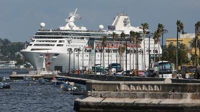 Casi 800,000 reservas de cruceros se han visto afectadas por la decisión de EEUU de prohibir los viajes a Cuba