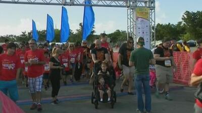 Con esta caminata en Miami buscan recaudar fondos para ayudar a niños con cáncer y poder financiar investigaciones