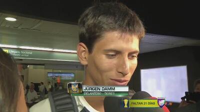 "Jürgen Damm: ""Contento de llegar a Tigres"""