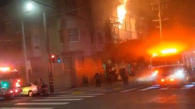 Incendio en San Francisco deja al menos 20 desplazados
