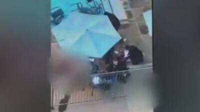 En video quedó registrado el tiroteo en San Diego, California, que dejó un muerto y seis heridos
