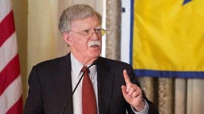 """""""Se trata de compensar a estadounidenses cuyas propiedades fueron robadas por el régimen"""": Bolton sobre sanciones a Cuba"""