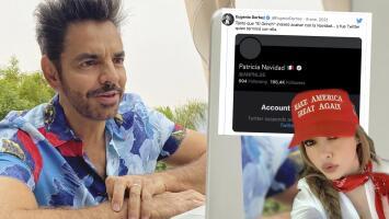 Eugenio Derbez se burla y compara a Paty Navidad con 'El Grinch' tras su suspensión de Twitter