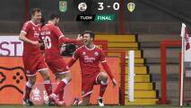 Un equipo de Cuarta División elimina al Leeds United