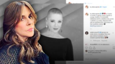 Edith González inspiró a la actriz Rebecca Jones en su combate contra el mismo cáncer (y así le agradece)