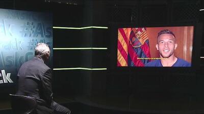 """De Stoichkov para Arthur: para ser protagonista con el Barcelona debe haber """"amor por el equipo"""""""