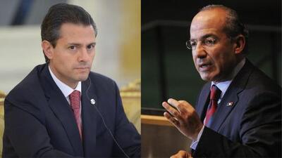 Expresidentes Felipe Calderón y Enrique Peña Nieto habrían aceptado sobornos de 'El Chapo'