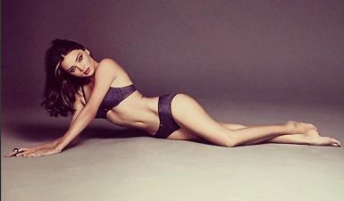 Miranda Kerr, la súper modelo australiana que gusta de todos los deportes