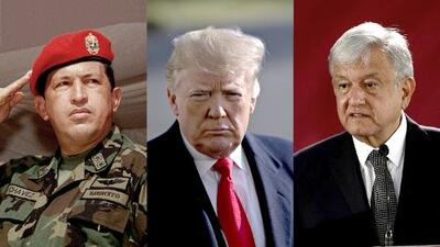 The three caudillos: Trump, AMLO and Chavez