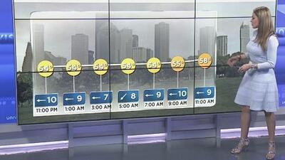 Lluvias con actividad eléctrica afectan varios sectores en Houston y ciudades aledañas
