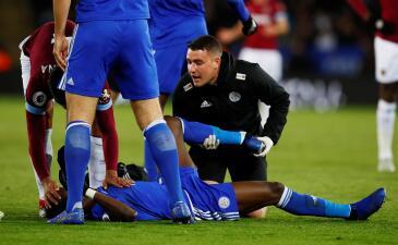 Paso a paso: la horrorosa lesión de Daniel Amartey, rival del 'Chicharito' en la Premier