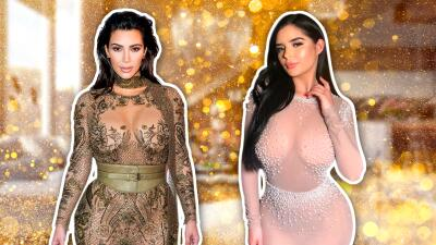 Ella es Demi Rose, la 'Kim Kardashian británica'