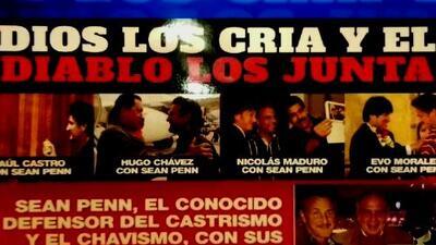 """""""Dios los cría y el diablo los junta"""": Joe Carollo enciende la polémica por foto de Tomás Regalado y Sean Penn"""