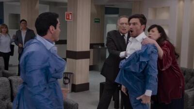Ricardo golpeó a Carlos por causarle a Alejandra una terrible crisis