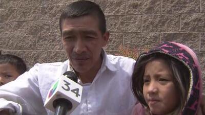 """""""Pensamos que nos iban a deportar a Guatemala"""": padre migrante liberado junto a su hija en California"""