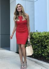 De rojo: así visten las mujeres poderosas