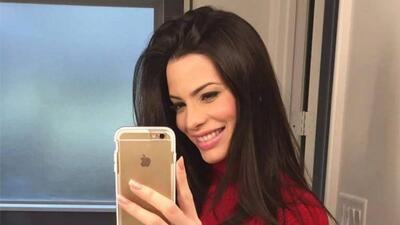 Viviana Ortiz presume su embarazo de ocho meses
