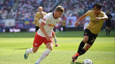 Timo Werner festeja renovación de contrato con gol